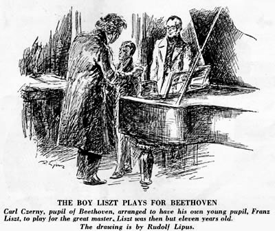 Beethoven and Liszt