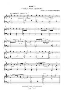 Grieg – Arietta