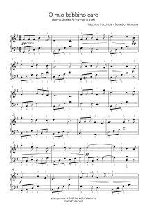 "Puccini – ""O mio babbino caro"""