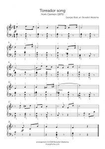 Bizet – Toreador Song